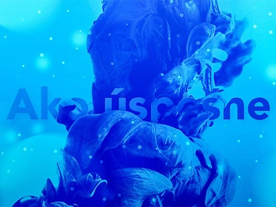 Smoke Ink Text effect blue effect text ink smoke
