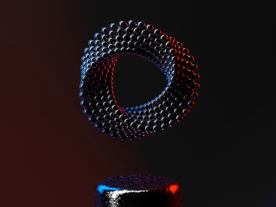 Abstract Infinity Triangle metal c4dart clone triangles spheres wallpaper c4dfordesigners art creative concept reflection deformation clones loop ring abstract cinema4d cinema 4d c4d animation