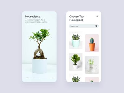 Houseplants ecommerce app