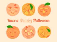 Peachy Halloween