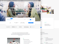 Personal Loans Landing Page