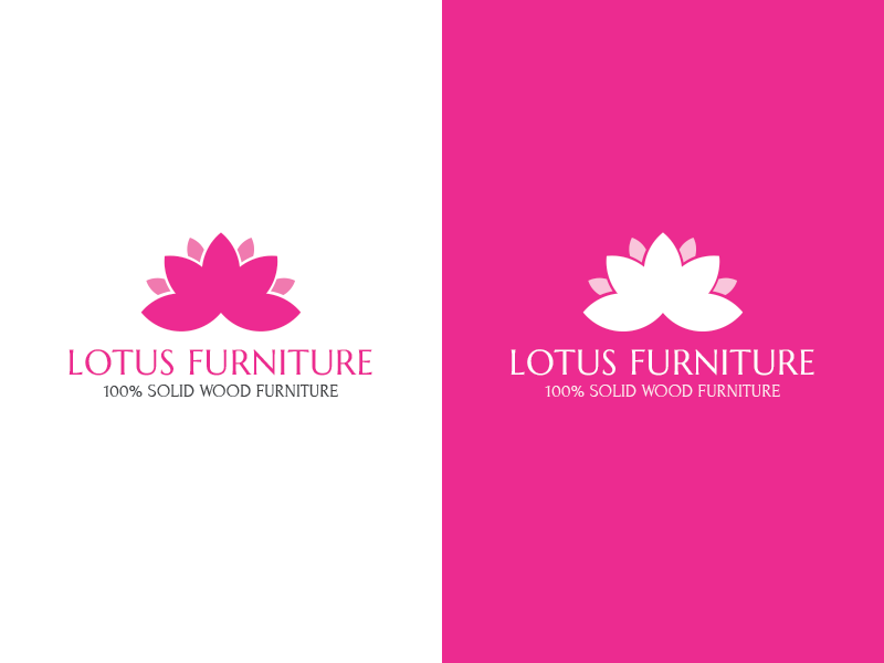 Pink Lotus Logo By Leo Cao Dribbble Dribbble