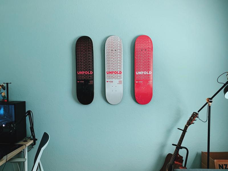 Unfold Skateboard Decks unfold custom skate deck deck skateboard deck skateboard skate