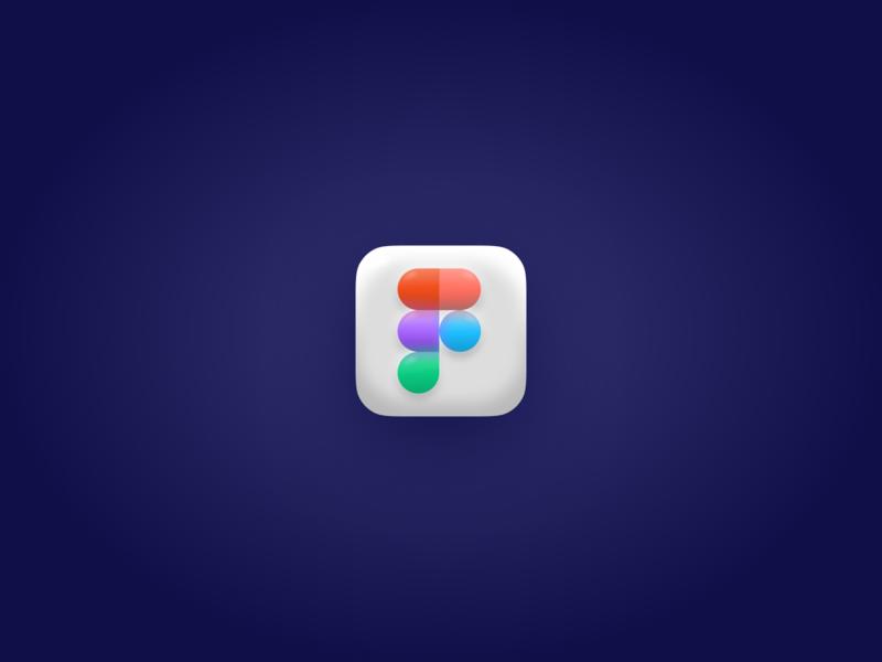 Figma Icon Big Sur 3d icon fimga big sur