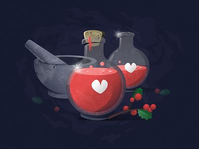 Health Potions video game potions potion health potion health grain design figma illustration
