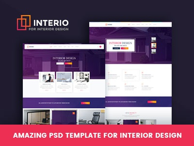 Interio Psd Template