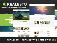 Real Estate PSD Pack
