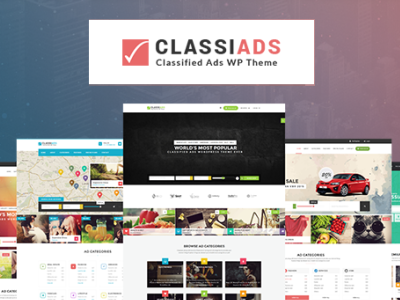 World Biggest classiads-classified wordpress theme
