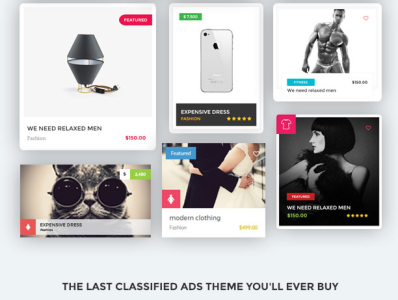 Classified WordPress Themes from ThemeForest