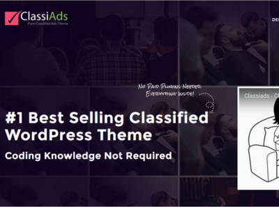 Feature Pack Classified WordPress Theme !