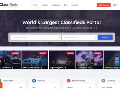 Find Classified WordPress Theme