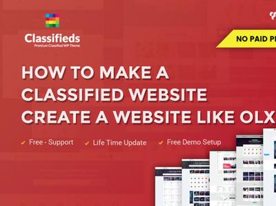 best classified WordPress theme!