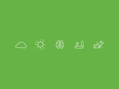 Work Simple Icons