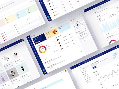 Nile Dashboard and Design system design system ux ui ui design ux design animation ui kit ui design kit dashboard card typography web mobile app app figma analytics chart components