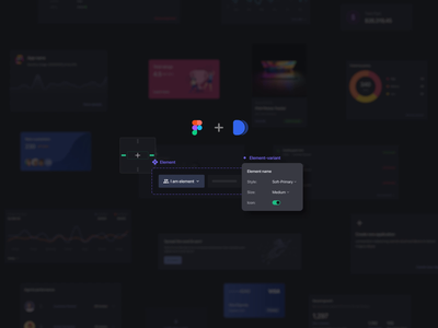 Nile Design system mobile app app ui design ui kit web app dashboard typography after effects animation dark components auto layout figma ux ui design system