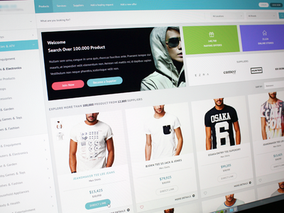 Shopping Interface
