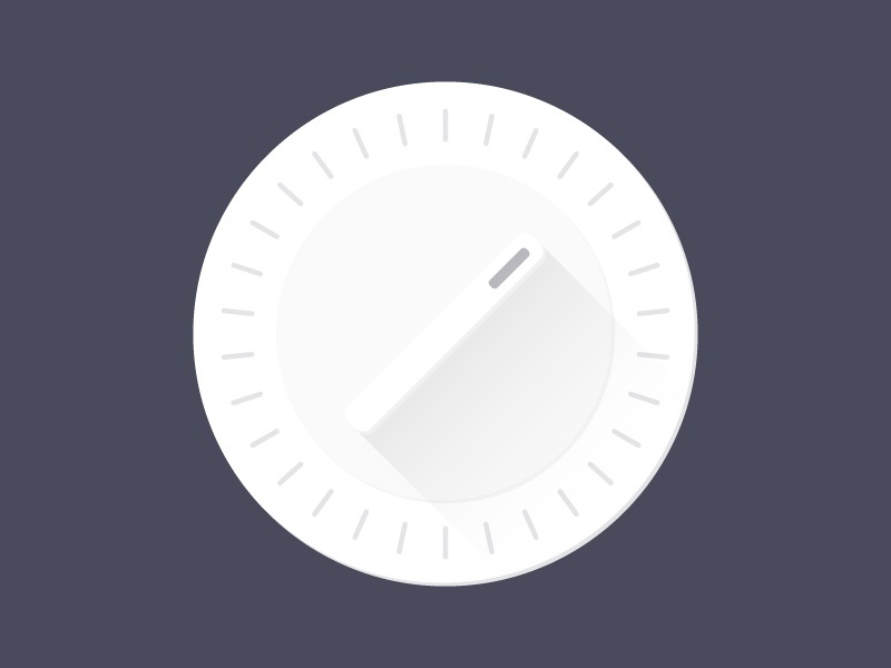 Kitchen Timer bw gradient clock timer kitchen timer black and white