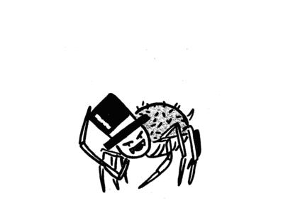 Old 8 Legs texture character illustration spider illustration