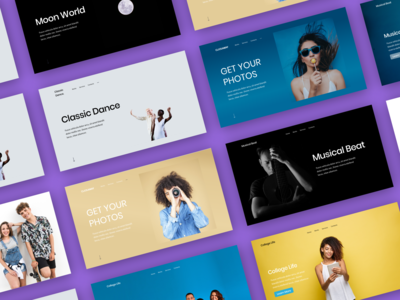 Landing Pages Headers