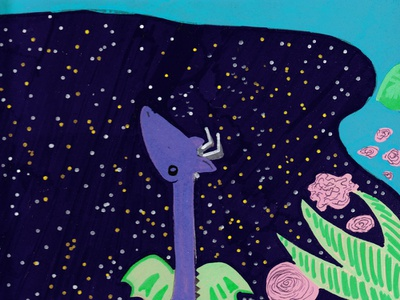 Dragon Starlight design illustration