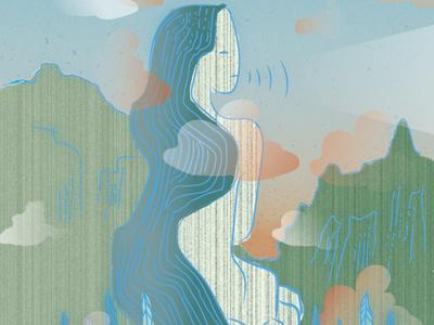 Flowing design illustrator vector illustration