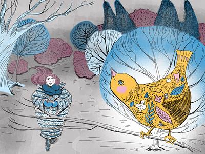 Optimism childrens illustration editorial illustration digital illustration digital painting illustrator illustration