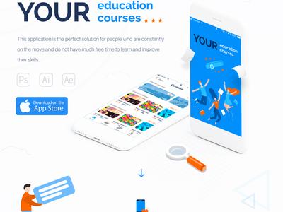 UI/UX for Education iOS app