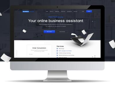 Business Website Design _ Desktop