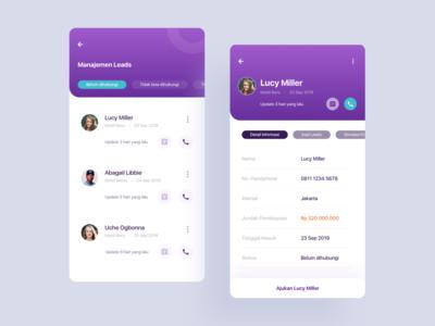 Management Leads - Sales App