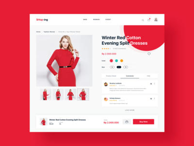 E-Commerce - Product Detail