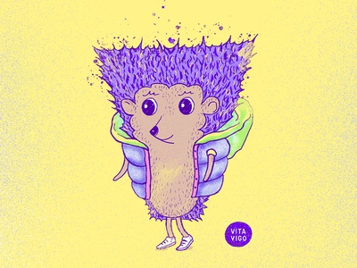 Hedgehog character illustration character design character hedgehog art illustration