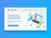Smart Traffic Landing Page