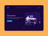 Careers Page Website banner design