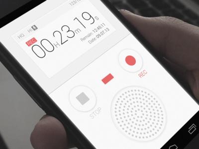 Voice Recorder UI