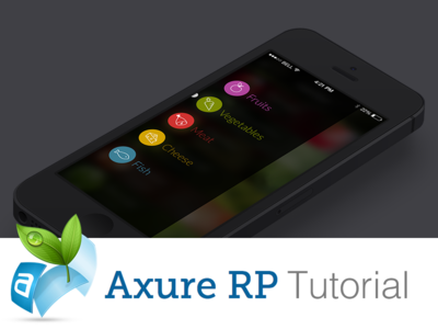 Axure RP mobile prototype by Stanfy - Dribbble