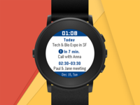 My Calendar. All Google Calendar events on your wrist.