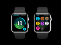 Apple Watch App for Waterbalance