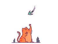 Catching a swift!