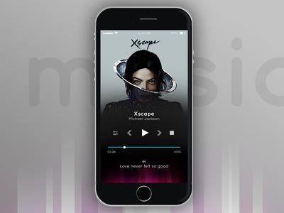 #dailyui Challenge  #009 Music Player