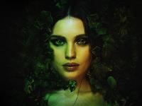 Poison Ivy Photoshop Manipulation