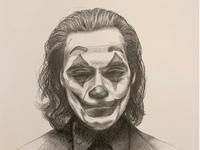 Joker Sketch joker movie portrait pentel graphgear 500 sketch illustration