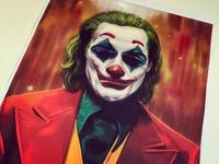 Joker painting portrait movie art movie poster jokermovie portrait painting procreate ipad pro