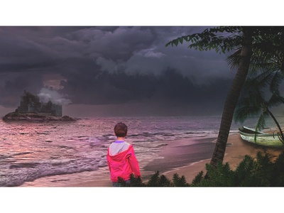 Homeful child #3 artwork digital art retouching art direction manipulation