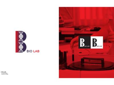 Bio Lab visual identity logo collection icons branding logofolio logo