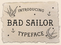 Bad Sailor Typeface