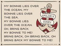 Sailors Diary Sans Typeface