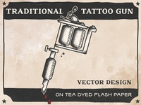 Tattoo Gun Flash Bad Taste