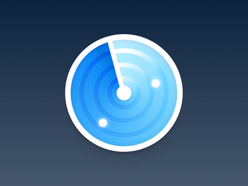 Radar app icon 📡 branding icons app icon icon