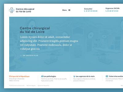 Surgeons website corporate health surgeons medical homepage website