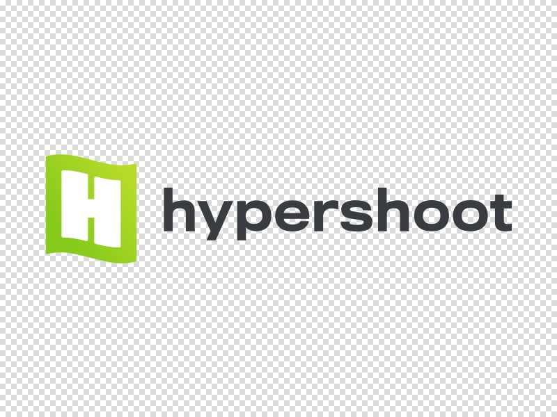 Hypershoot logo branding identity screenshot flag product logo